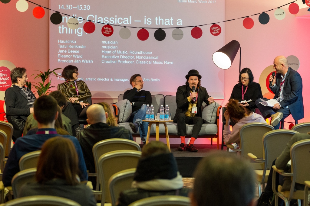 Indieclassical: is that a thing / panel discussion (credits Tallinn Music Week)